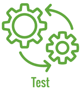 test process icon