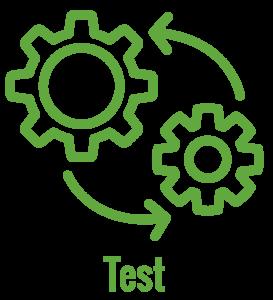 test process icon